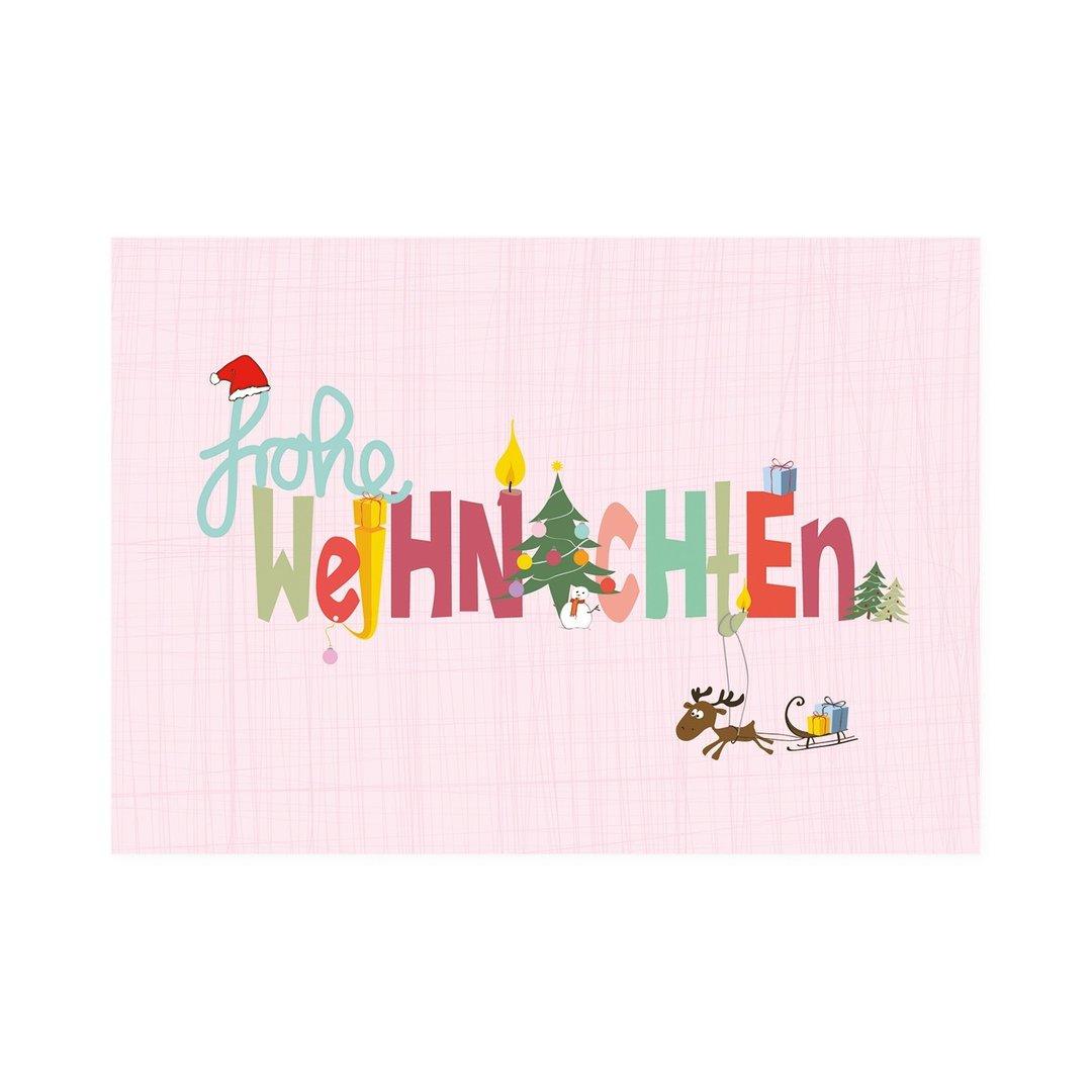 mea living postkarte frohe weihnachten gretagemuetlich. Black Bedroom Furniture Sets. Home Design Ideas