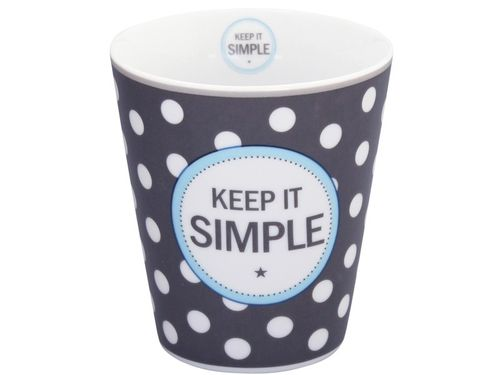 Krasilnokoff Happy Mug Keep it SIMPLE