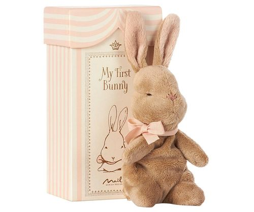 Maileg First Bunny in Box-Rose