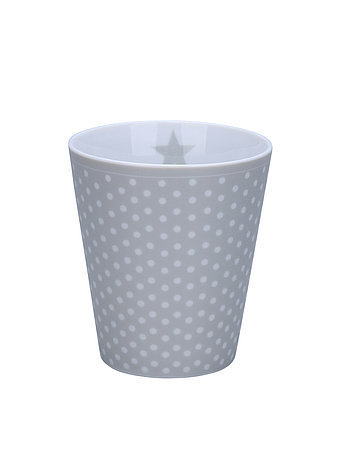 Krasilnikoff Happy Mug Micro Dots grey