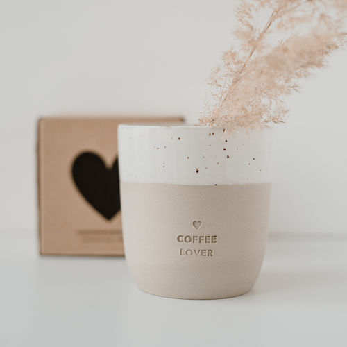 EULENSCHNITT Becher Coffee Lover